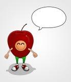 Мальчик Яблока Стоковые Изображения RF