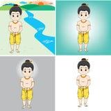 Мальчик Иллюстрация штока