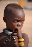 Мальчик Himba Стоковое фото RF
