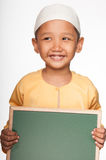 Милый мусульманский мальчик Стоковая Фотография