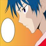 Мальчик Manga вектора Стоковая Фотография