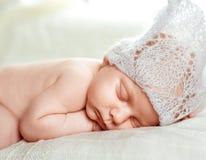 мальчик newborn Стоковое Изображение RF