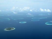 Мальдивские острова Стоковое фото RF