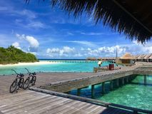 Мальдивские острова стоковая фотография rf