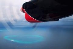 Мальдивы от самолета Стоковые Фото