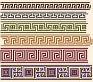 меандры грека иллюстрация вектора