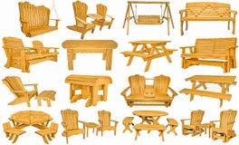 Мебель Амишей ручной работы внешняя стоковое изображение