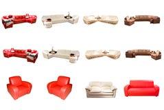 мебель самомоднейшая Стоковые Фотографии RF