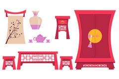 Мебель старый Китай Стоковые Фотографии RF