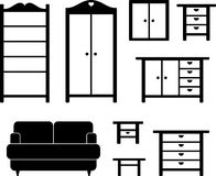 мебель Стоковое Изображение