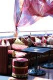 мебель oriental части кафа Стоковые Изображения