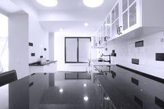 Мебель кухни Стоковое Изображение RF