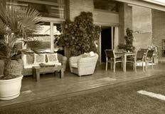 Мебель украшения домашнего хозяйства внешняя Стоковая Фотография RF