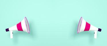 мегафоны 2 Стоковое фото RF