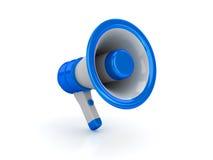 мегафон глянцеватый Стоковые Фото