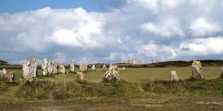 Мегалит в Бретани Стоковая Фотография