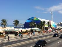 Мега магазин Рио 2016 стоковые фотографии rf
