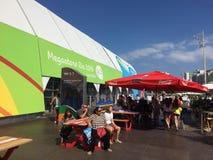 Мега магазин Рио 2016 стоковые фото