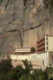 Мега монастырь Spilaio в Kalavryta Стоковое Изображение RF