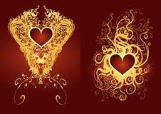 медаль сердца Стоковая Фотография RF