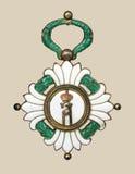 медаль старое Стоковое Фото