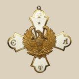 медаль старое Стоковая Фотография