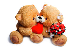 медведь влюбился 2 Стоковая Фотография