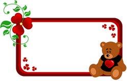 медведь знамени иллюстрация штока