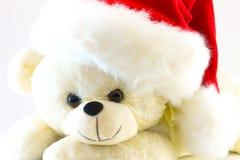 медведь игрушки плюша на белой предпосылке Это имеет путь клиппирования стоковые фото