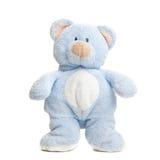медведь изолированный над белизной игрушечного Стоковое Изображение