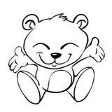 медведь младенца иллюстрация штока