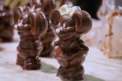 Медведь шоколада смешной в юбке Стоковое Изображение RF