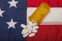 Медицина рецепта в Америке стоковые фотографии rf