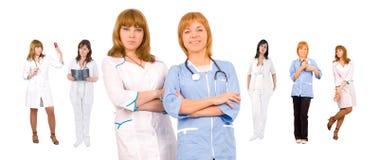 медицинская бригада принципиальной схемы Стоковое Фото