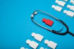 Медицинская концепция здоровья, безопасная жизнь стоковое изображение