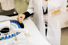 Медицинская лаборатория Стоковые Фотографии RF