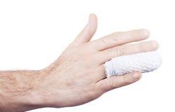 медицинская поврежденная рукой стоковая фотография