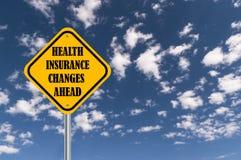 Медицинская страховка изменяет вперед бесплатная иллюстрация