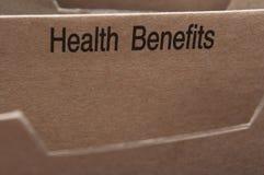 медицинская страховка Стоковое Фото