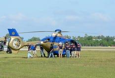Медицинская тренировка спасательной команды стоковые фото