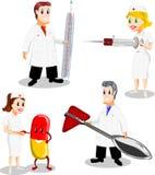 медицинские персоналы Стоковые Изображения RF