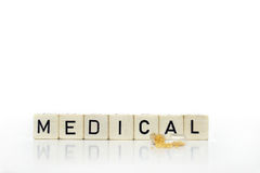 медицинские пилюльки Стоковое Изображение RF