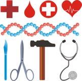 медицинские символы Стоковое фото RF
