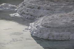 Медицинский пляж на мертвой Мор-известной обработке псориаза здоровья Стоковые Изображения