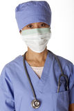 медицинский профессионал scrubs стоковая фотография