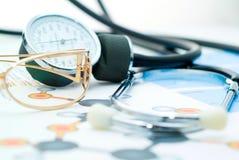 медицинский рапорт Стоковые Изображения RF