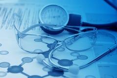 медицинский рапорт стоковая фотография rf