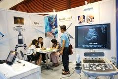 Медицинский справедливый Таиланд держал на exhibitional Hall QSNCC которое pres Стоковые Фото