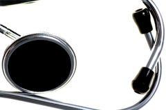 Медицинский стетоскоп стоковая фотография rf