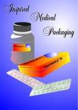 медицинский упаковывать Стоковая Фотография RF
